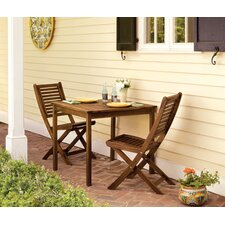 Capri 3 Piece Dining Set