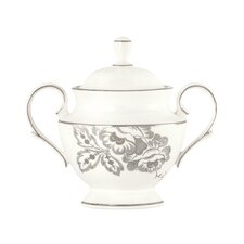 Floral Waltz Sugar Bowl with Lid