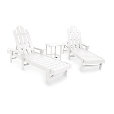 Long Island 3 Piece Chaise Lounge Seating Group