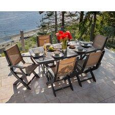 Bargain Coastal 7 Piece Dining Set