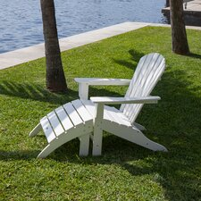 Reviews South Beach Adirondack 2 Piece Chair Set