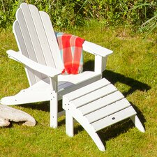 Long Island Adirondack 2 Piece Chair Set