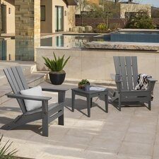 Quattro 3 Piece Adirondack Seating Group