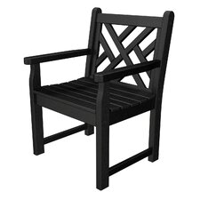 Modern Chippendale Garden Arm Chair