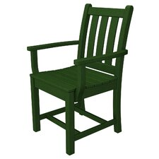 Traditional Garden Dining Arm Chair (Set of 2)