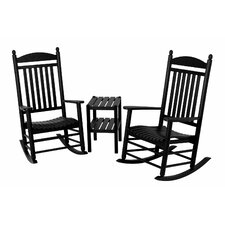 Jefferson 3 Piece Rocker Set