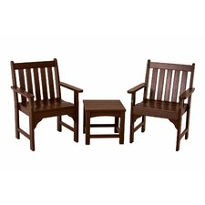 Vineyard 3 Piece Garden Chair Set
