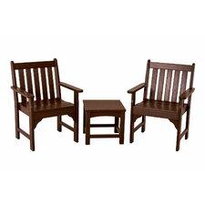 Best  Vineyard 3 Piece Garden Chair Set