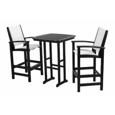 Coastal 3 Piece Bar Set