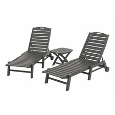 Nautical 3 Piece Chaise Set