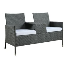 Seaside Setee with Armrest Table