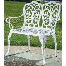 Reviews Celine Cast Aluminum Garden Bench