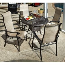 No Copoun Charter 5 Piece Dining Set