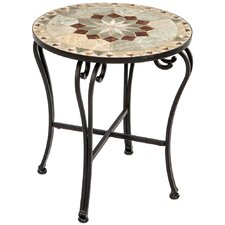 Fresh Notre Dame Mosaic Side Table