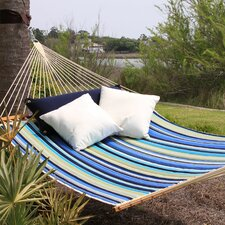 Large Striped Quilted Hammock