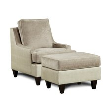 Monte Carlo Arm Chair and Ottoman