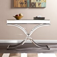 Caraman Mirrored Console Table