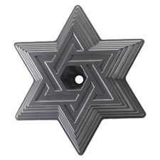 Platinum Star of David Cake Bundt  Nordic Ware