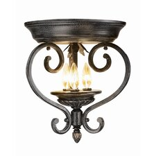 Rosedale 3-Light Flush Mount