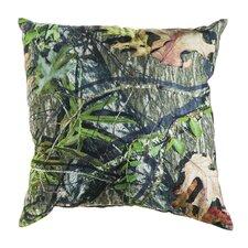 Mossy Oak Burlap Throw Pillow