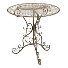 Antique Ivory Bistro Table