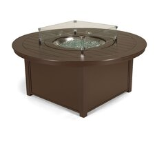Marine Grade Polymer Natural Gas and Liquid Propane Chat Height Fire Table