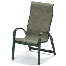 Primera Sling Supreme Stacking Arm Dining Chair (Set of 4)