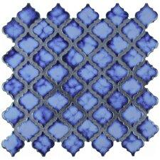 """Pharsalia 2"""" x 2.25"""" Porcelain Mosaic Tile in Sapphire"""