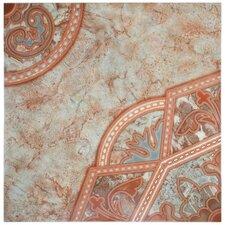 """Tanja 19.75"""" x 19.75"""" Ceramic Field Tile in Red"""