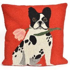 Frontporch Flowery Frenchy Throw Pillow