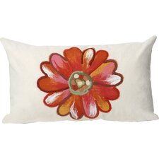 Daisy Indoor/Outdoor Lumbar Pillow