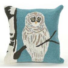 Great price Frontporch Snowy Owl Indoor/Outdoor Throw Pillow