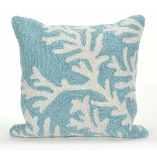 Discount Frontporch Coral Indoor/Outdoor Throw Pillow