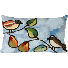 Song Birds Indoor/Outdoor Lumbar Pillow