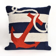 Frontporch Anchor Throw Pillow
