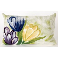 Tulips Indoor/Outdoor Throw Pillow