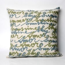Amour Indoor/Outdoor Throw Pillow
