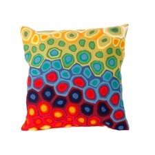 Coupon Pop Swirl Indoor/Outdoor Throw Pillow