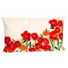 Poppies Indoor/Outdoor Lumbar Pillow