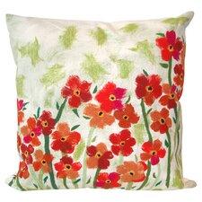 Great Reviews Poppies Indoor/Outdoor Throw Pillow