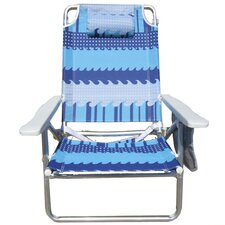 2017 Sale Pure Weather Deluxe 5-Position Beach Chair