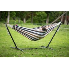 #1 Lyda Cotton Hammock with Stand