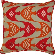 Ocean Current Throw Pillow