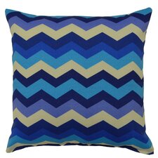 Panama Wave Outdoor Throw Pillow