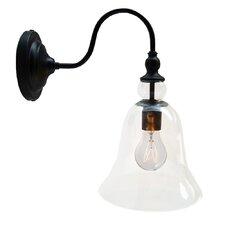 Mildred 1-Light Glass Wall Lamp