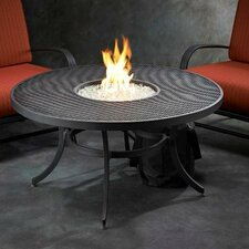 Nightfire Crystal Fire Pit Tabletop with Mesh