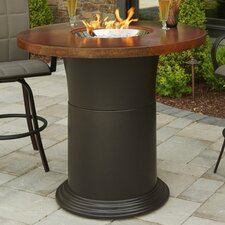 Herry Up Colonial Fiberglass Gas Pub Fire Pit Table