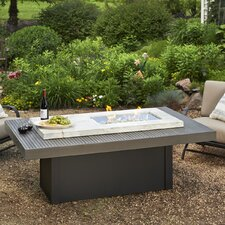 Boardwalk Propane Fire Pit Table