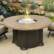 Colonial Fiberglass Propane Fire Pit Table