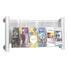 Luxe 6 Pocket Magazine Rack